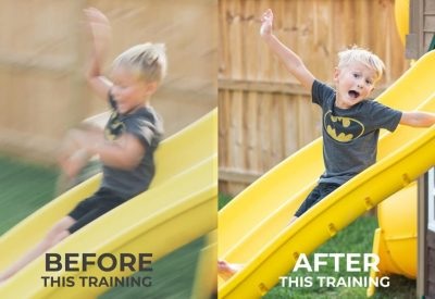 before training after training